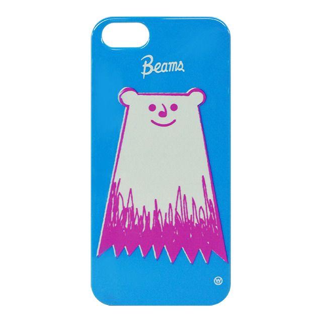 """「BEAMS」The Wonderful! Design works. POLAR BEAR for iPhone 5s/5はビームスオリジナルの限定 iPhoneケースです。。グラフィックデザイン、キャラクター、トイ、Tシャツデザインなど、見る人をワクワクさせることを信条にジャンルを問わず活動する """"The Wonderful! Design works.""""。今回、ビームスオリジナルとしてiPhoneケースをポップにデザインしました。当ストアだけの取り扱いになります。。グラフィックデザイン、キャラクター、トイ、Tシャツデザインなど、見る人をワクワクさせることを信条にジャンルを問わず活動する """"The Wonderful! Design…"""