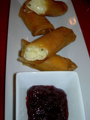 Cocinando entre Olivos: Crujiente de queso brie con mermelada de fresa. Paso a paso