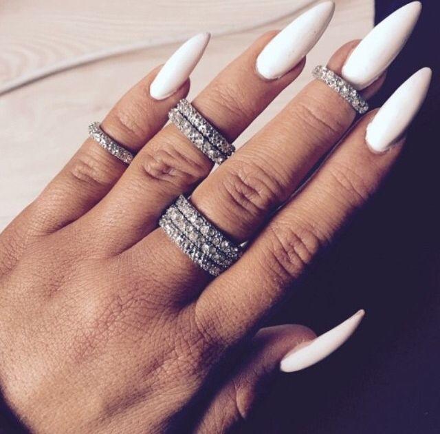 25 best Long Nails images on Pinterest   Nail scissors, Cute nails ...