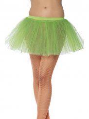 Tutù verde lime in tulle. Taglia Unica. Per ballo, feste a tema e Carnevale. Disponibile da C&C Creations Store