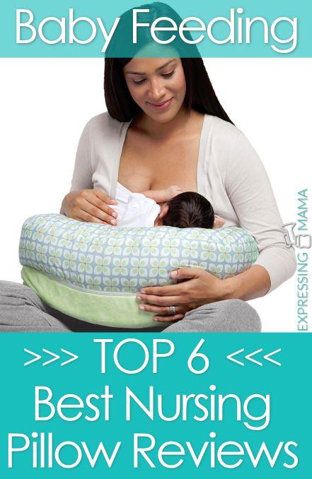 Best Nursing Pillow Reviews - Top 6 Breast feeding pillows. Expressing Mama