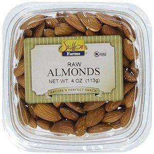 Setton Farms Raw Almond Snack Pack, 4 oz | AmazonFresh