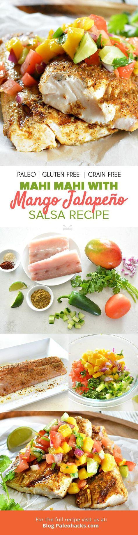This Tropical Mahi Mahi Recipe Will Rival Your Favorite Taco Shop