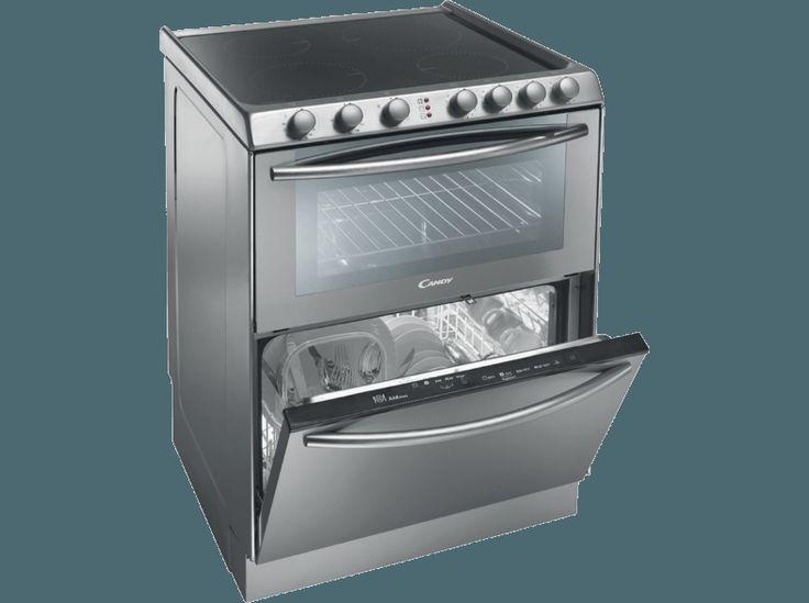 CANDY TRIO 9503/X kerámialapos tűzhely mosogatógéppel
