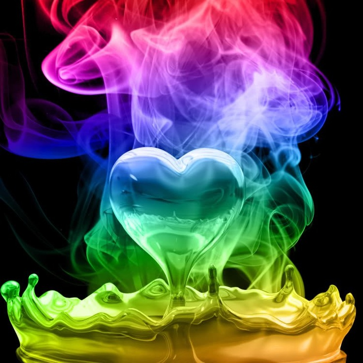 rainbow smoke wallpapers r - photo #27