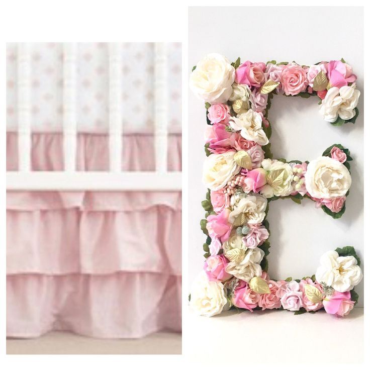 Large Letters for Nursery Letters Wall Decor, Large Wall Letters for Nursery, Hanging Wall Letters for Nursery Girl, Boho letters decor by VivasFlowerShop on Etsy