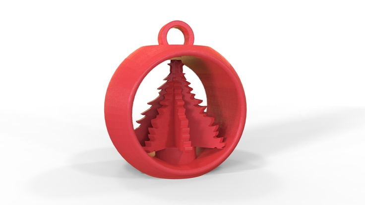 3d printed christmas decoration