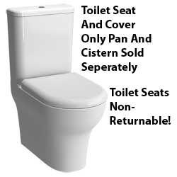 Vitra Zentrum Soft Close Toilet Seat 94-003-009