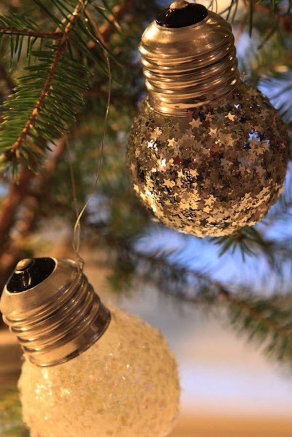 adornos de navidad reciclados 17                                                                                                                                                                                 Más                                                                                                                                                                                 Más
