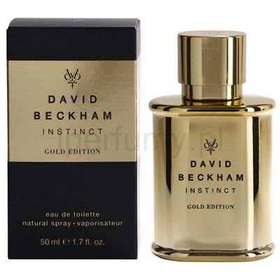 David Beckham Instinct Gold Edition woda toaletowa dla mężczyzn | iperfumy.pl