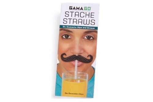 Mustache Straws - $8.68 | The Geeky Store
