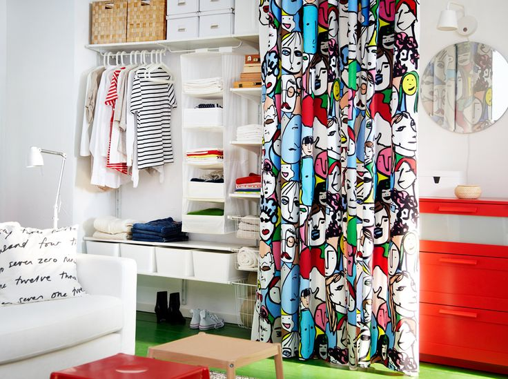 Algot Storage Solution With Shelves Clothes Rail And Wire