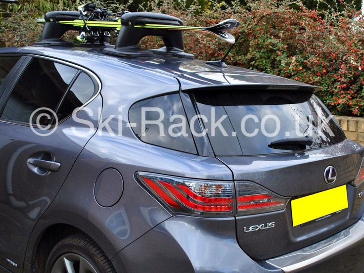 Lexus Ski Rack – No roof bars £134.95