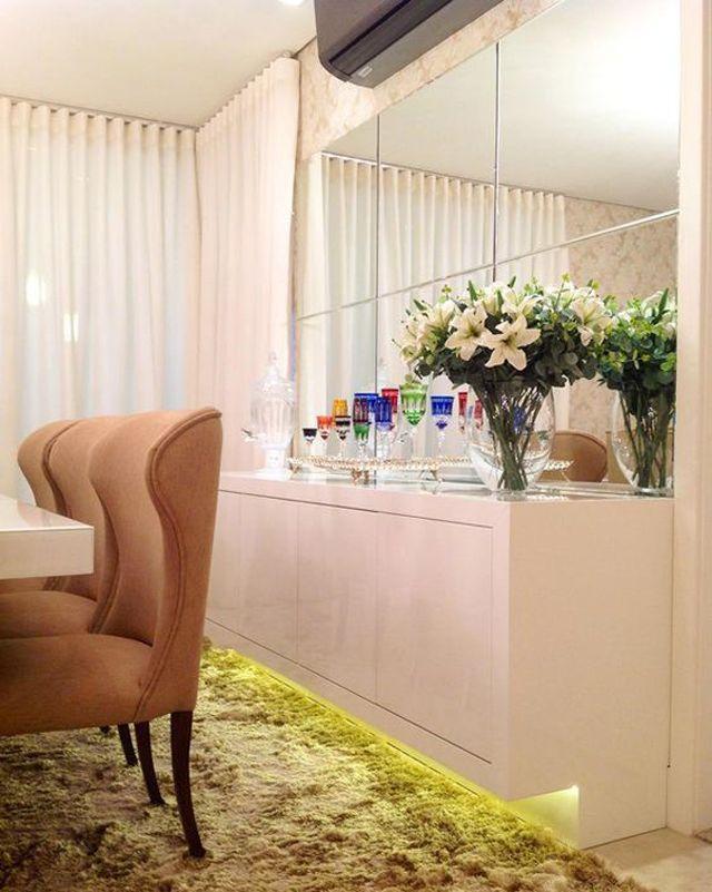 10 Buffets em salas de jantar - veja modelos lindos e diferentes! - DecorSalteado