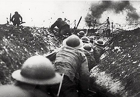The Somme - Probably the most gruesome and bloody battle in the last 100 years. -World War 1