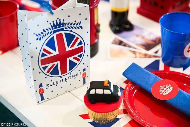 decoracao festa londres: Decoração de Eventos: Festa Londres