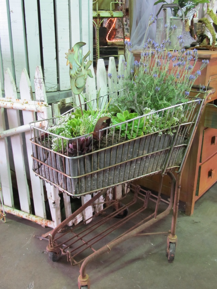 55 Best Upcycled Images On Pinterest Shopping Carts