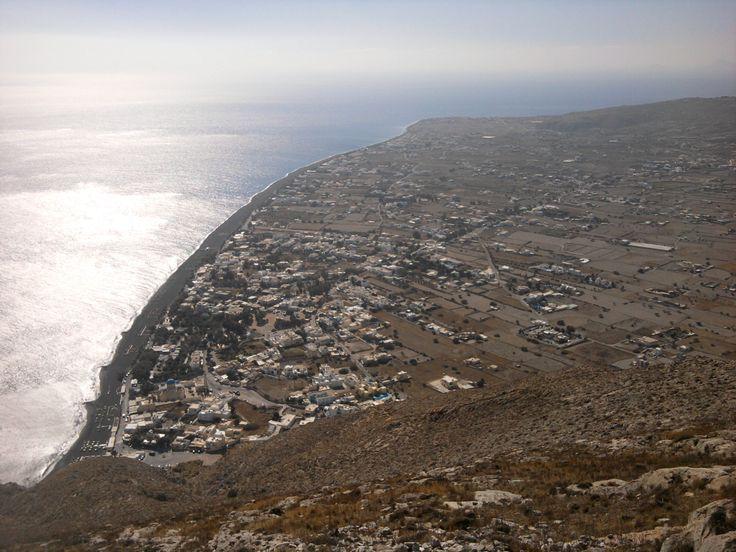 Perissa- Perivolos ( picture taken from Ancient Thira)