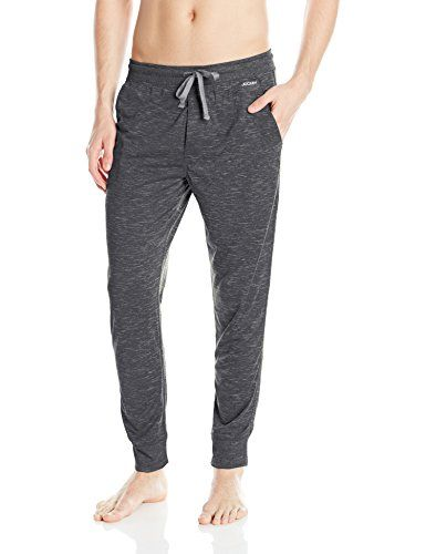 Jockey Men's Variegated Knit Sleep Pant   Jockey Men's Variegated Knit Sleep Pant Sleep in complete comfort in these pajama pants by Jockey. These jersey blend pajama pants feature a side seam pockets and a drawstring waist. Polyester-Blend.  http://www.allsleepwear.com/jockey-mens-variegated-knit-sleep-pant/