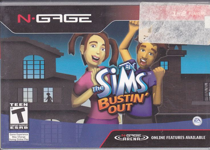 Nokia / N-Gage / The Sims / Bustin' Out / Factory Sealed 2004 Videogame / RARE !