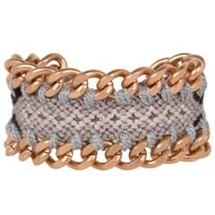 Mercedes Salazar Wayuu Rosy Knitted Bracelet @Layla Grayce #laylagrayce #fashion #jewelry