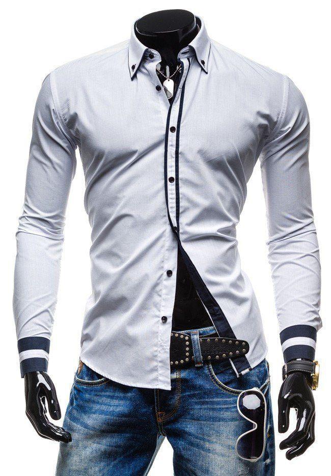 Striped Formal Dress Shirt
