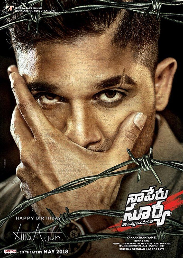 Naa Peru Surya Na Illu India 2018 Movie Free Download 720p Bluray