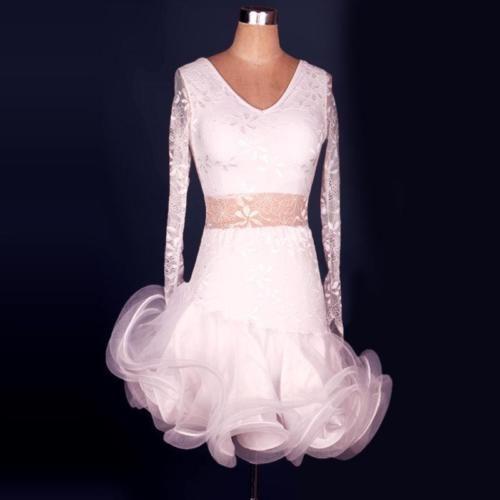 Girl-Rumba-Latin-Salsa-Samba-Cha-cha-Ballroom-Dance-Dress-Competition-Dancewear