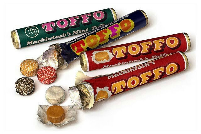 My primary school teacher used to give everyone 3 toffos every Friday.highlight of the week!!