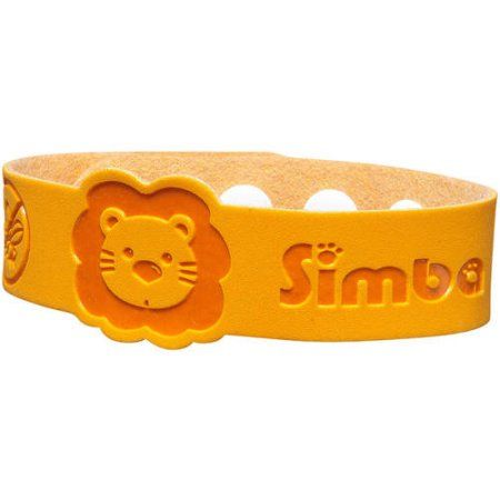 Simba Mosquito Repellent Bracelet, Choose your color, Yellow