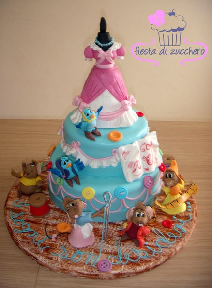 Cinderella Cake. I generally don't like cakes, but I would take this for my next birthday.