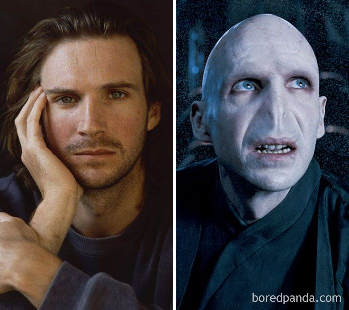 Ralph Fiennes Lord Voldemort Harry Potter Series Movie Makeup Voldemort Ralph Fiennes