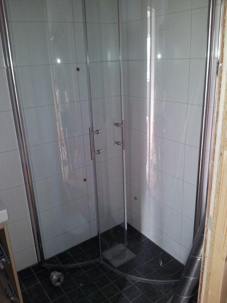 Inspirerande bilder på duschdörrar