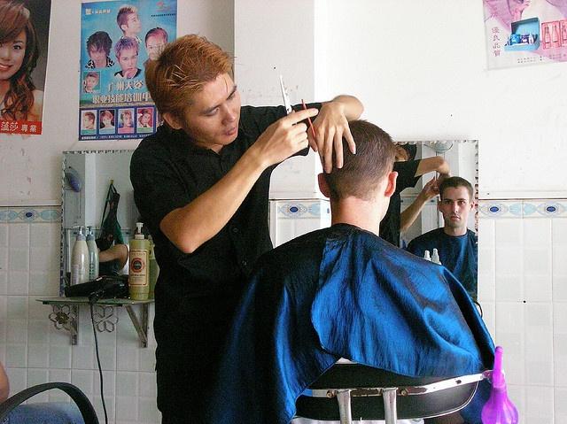 #barberschool