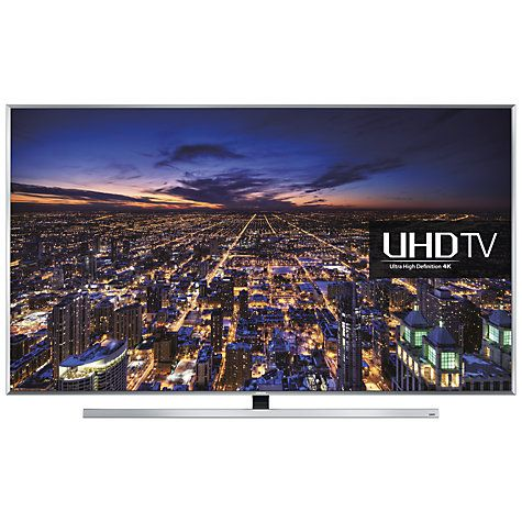 """Buy Samsung UE48JU7000 LED HDR 4K Ultra HD 3D Smart TV, 48"""" with Freeview HD/freesat HD and Built-in Wi-Fi Online at johnlewis.com"""
