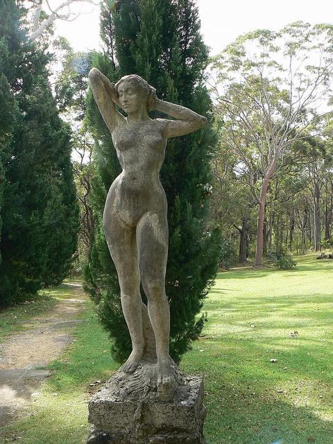 In the gardens of the Norman Lindsay Gallery Falconbridge Australia by adrienne_bartl, via Flickr