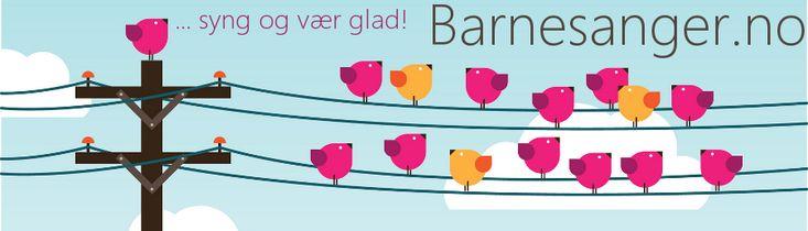 Barnesanger.no - barnesanger, lydbøker & regler/rim - hør GRATIS og finn tekster