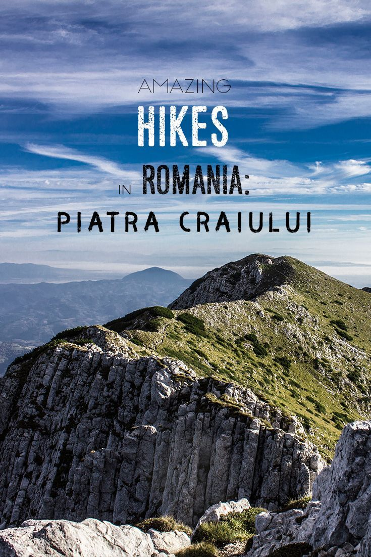 Romania is full of beautiful nature and you can also find amazing hikes. In Transylvania we did the Piatra Craiului mountain range - come prepared, this is no childs play ;-)