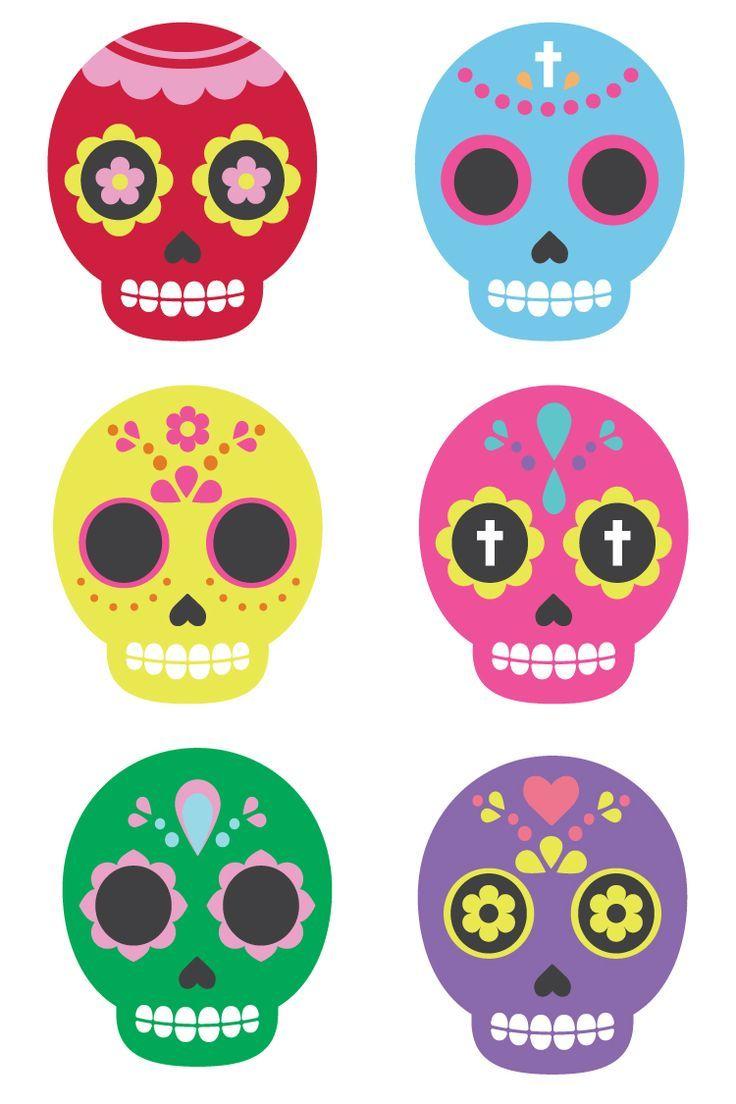 - Sugar Skull Clip Art Clip Art, Sugar Skull, Fun Projects
