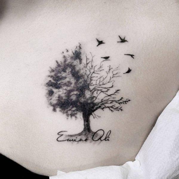 Belles Conceptions De Tatouages D Rsquo Arbres Tatuaje árbol De La Vida Tatuaje Del árbol De La Vida Diseños Del Tatuaje Del árbol