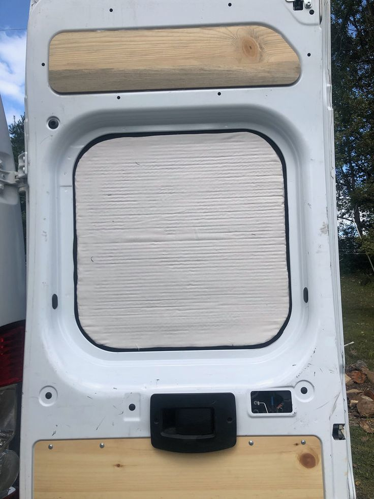 How to make blackout window covers for a campervan leave