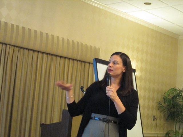 Dr. Melissa Sloan of the University of South Florida provided insights as part of the interactive program Friday at the Florida Sister Cities State convention on May 3rd on how to measure results and improve programs through research.