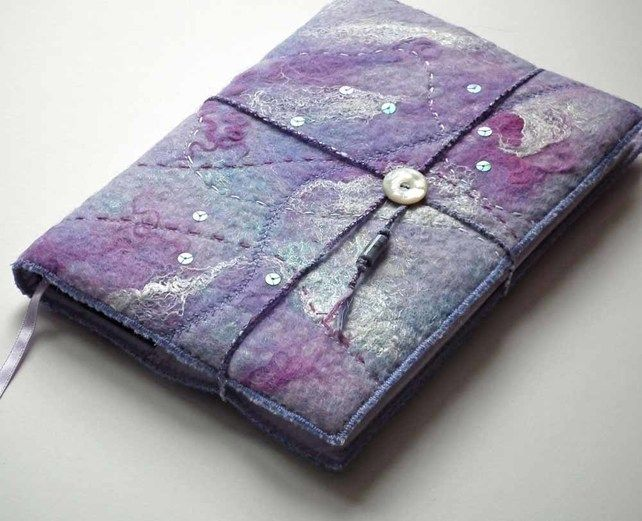 Book Cover Handmade Jewelry ~ Images about felted journal covers on pinterest