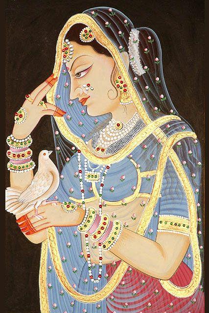 Beautiful Indian Mughal Paintings