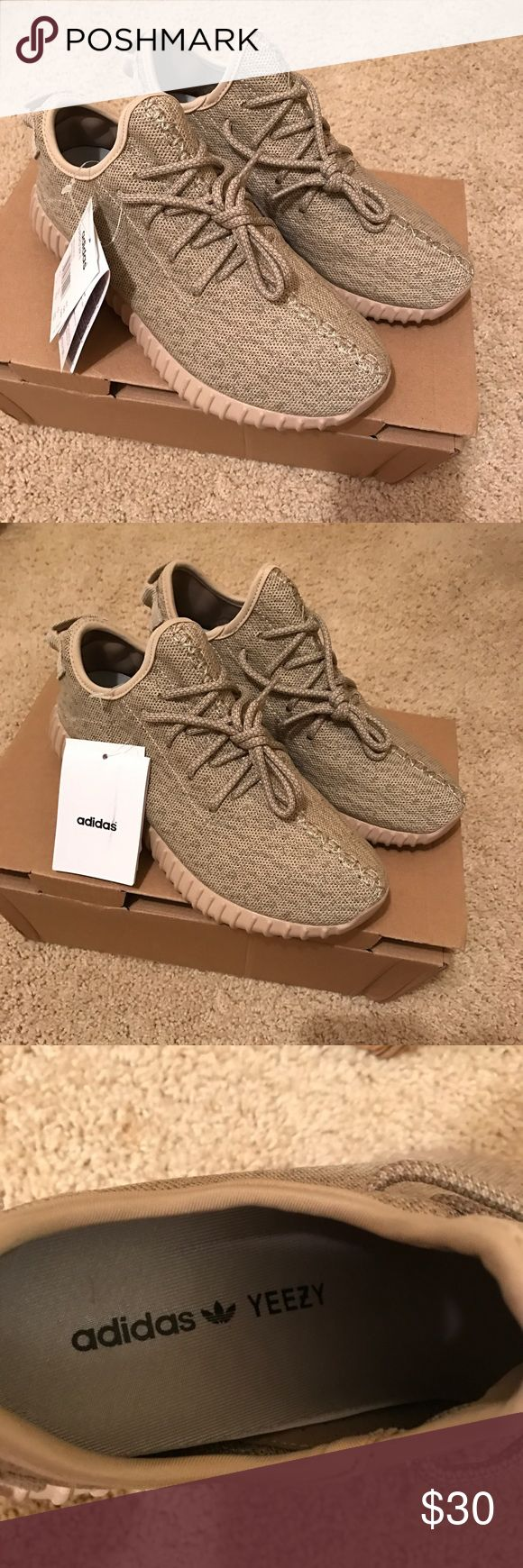 Yeezy Boost 360 Oxford Tan Fake Yeezy Adidas - I bought these on Amazon, but they are too big. I normally wear a size 7 and these are 8.5. Adidas Shoes Sneakers