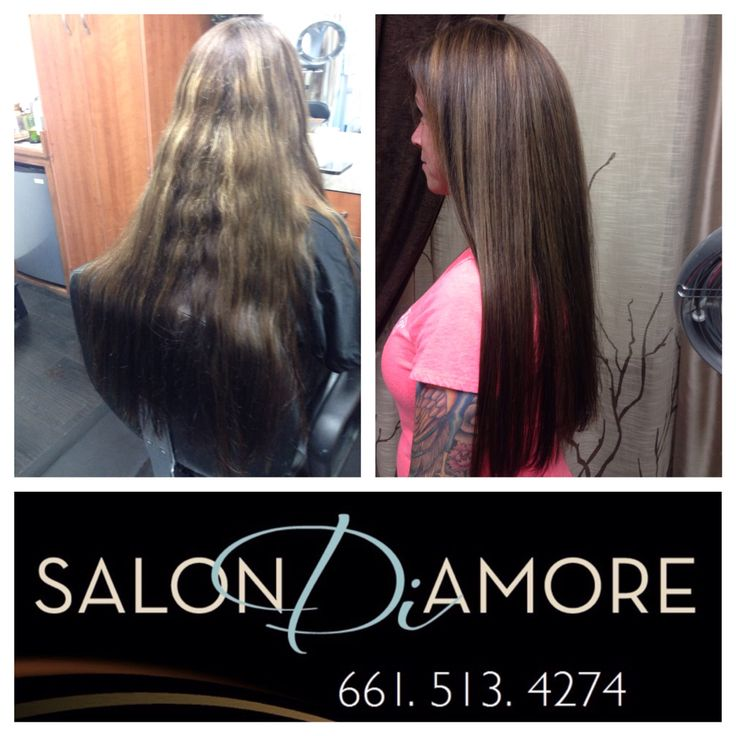 Color correction and hair restoration by @SalonDiAmore  #color #haircolor #longhair #highlights #hair #hairstyle