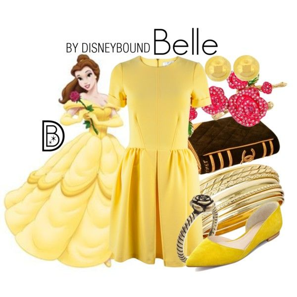 Belle by leslieakay on Polyvore featuring Closet, Marc Fisher LTD, Betsey Johnson, Lord & Taylor, Disney, women's clothing, women's fashion, women, female and woman