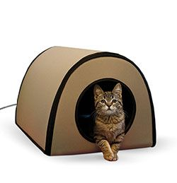 Mod Thermo-Kitty Shelter - Heated Cat House at CozyWinters.com