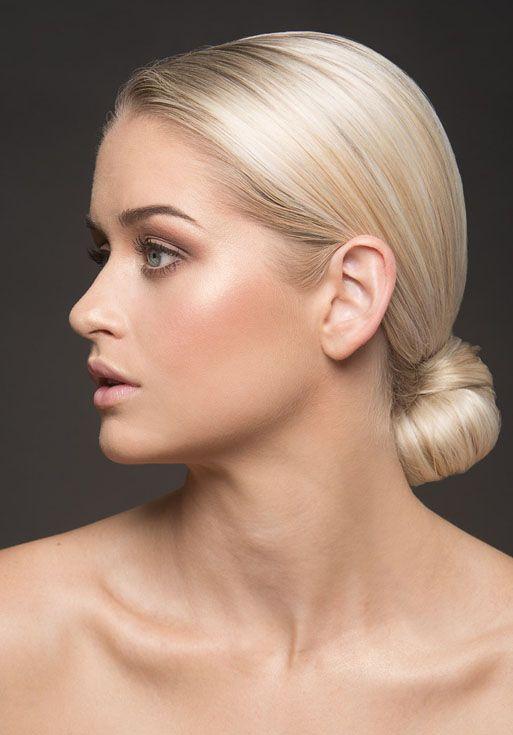 Beauty Portrait featuring Harlotte Cosmetics .  Makeup Artist Alarna Taylor  Photographer Nina K Photography  Stunning Makeup Portrait