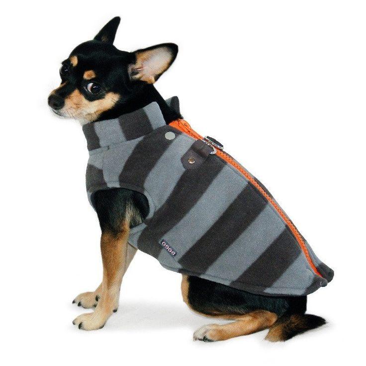 Active Fleece D-Ring Dog Winter Coat